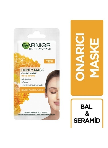Garnier GARNIER SKIN NATURALS ONARICI HONEY MASKE 8ML Renksiz